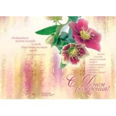 С Днём Рождения. Пусть Господь откроет тебе добрую сокровищницу Свою и даст изобилие во всех благах