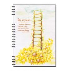 Христианский блокнот: Бог же надії нехай вас наповнить усякою радістю...Рим.15:13 (90 лист., в клеточку)