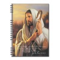 Христианский блокнот: Я есмь пастырь добрый; и знаю Моих...(90 лист., в клеточку)