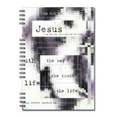Христианский блокнот: Jesus  Иоан. 14:6(90 лист., в клеточку)