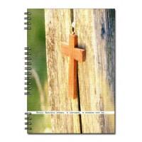 Христианский блокнот: Иисус Христос вчера и сегодня и вовеки тотже  (45лист, в клеточку)