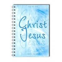 """Блокнот с надписью: """"Christ Jesus"""" (90листов А6)"""