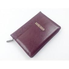 Библия 045 zti бордовая тиснение (розы)