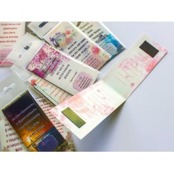 Закладки магнитные с местами Писания. (24)