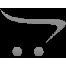 Фигурная полимерная наклейка: Иисус Господь (черный фон, золотые буквы)